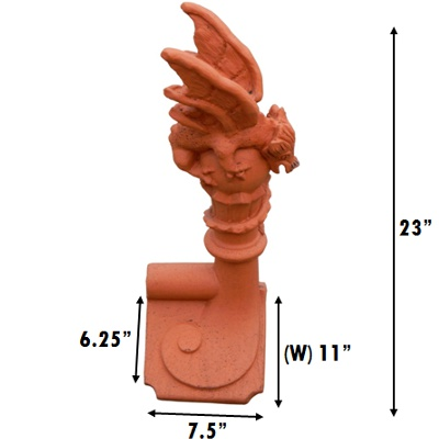 small mini dragon crest ss measurements