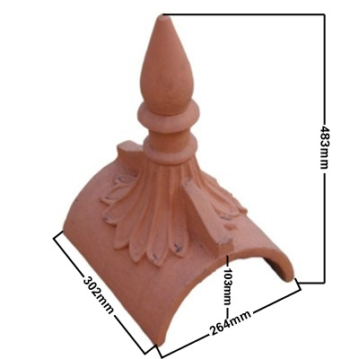 spike roof finial