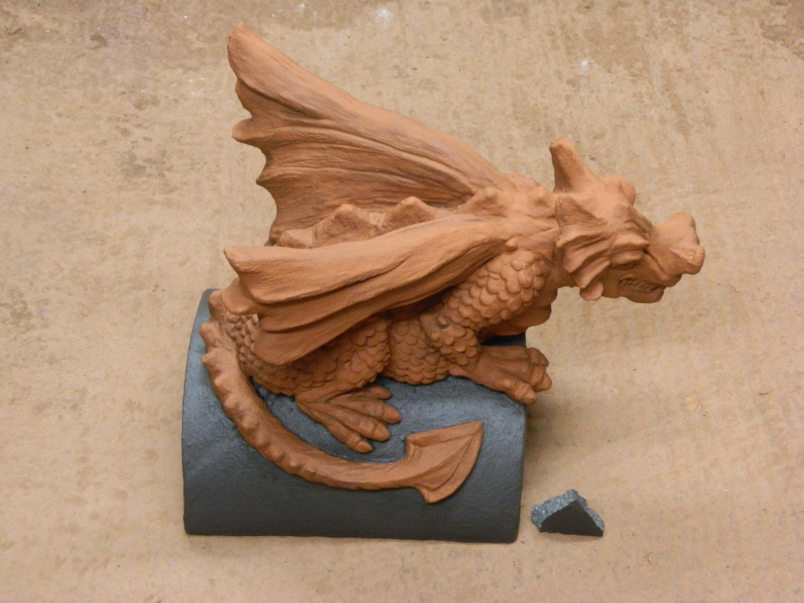 roof dragon special two tone grey terracotta colour match