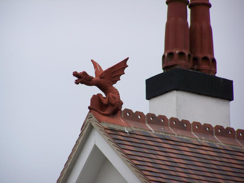 Large Dragon Finial In Essex