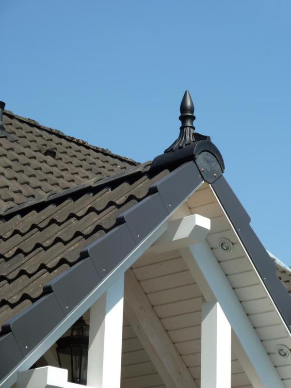 Marley Anthracite Finial On Roof