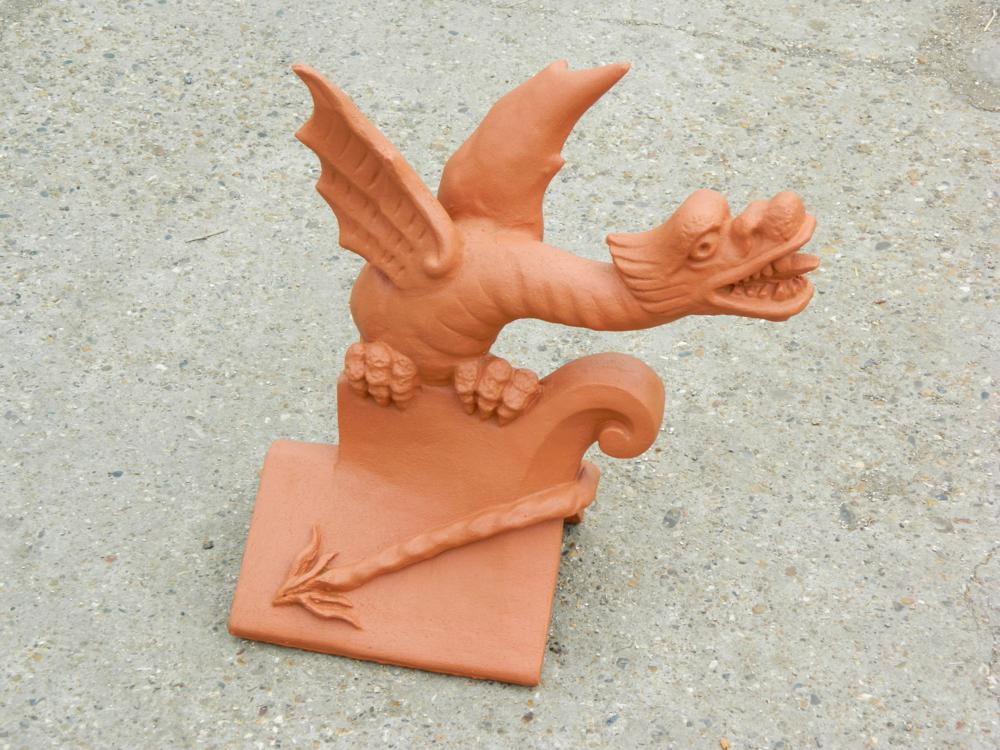 Redbank colour matched roof dragon