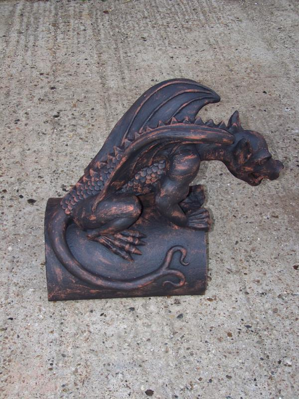 Rustic Dragon Finial