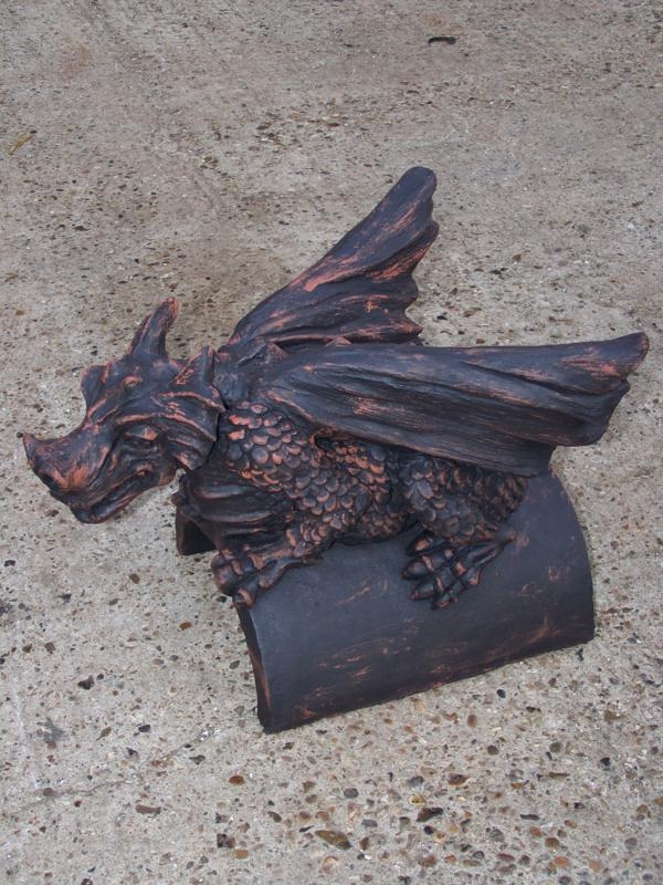 Rustic Roof Dragon